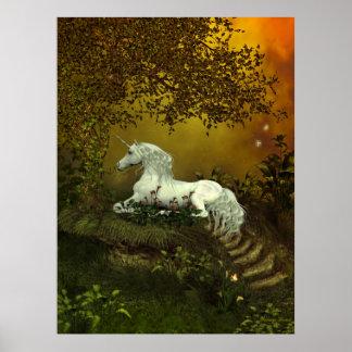 Mystical Unicorn Print