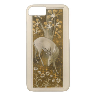 Mystical White Deer in Woods 1877 iPhone 7 Case