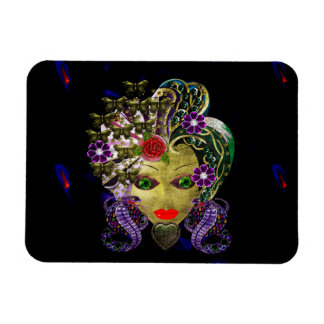 Mystical Witchy Woman Vinyl Magnet