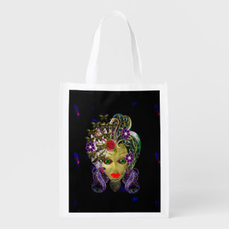 Mystical Witchy Woman Reusable Grocery Bag
