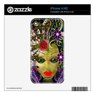 Mystical Witchy Woman Decals For iPhone 4