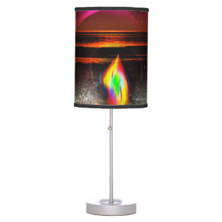 Mystical world  3 Tripod Lamp & Extra Table Shade