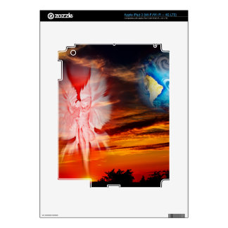 Mystical world, heavenly apparition skins for iPad 3