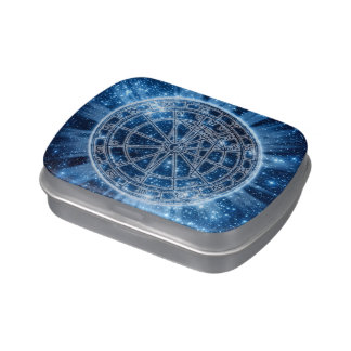 Mystical Zodiac Candy Tin