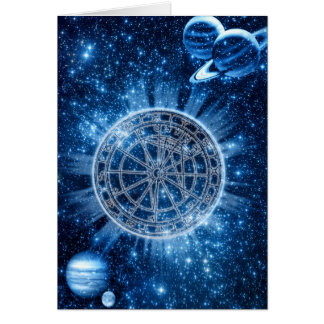 Mystical Zodiac Greeting Card