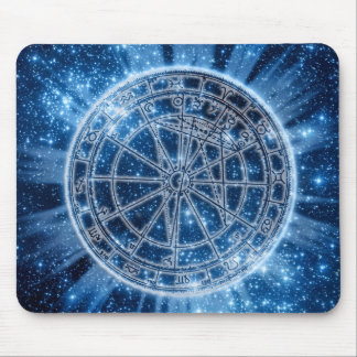 Mystical Zodiac Mouse Pad