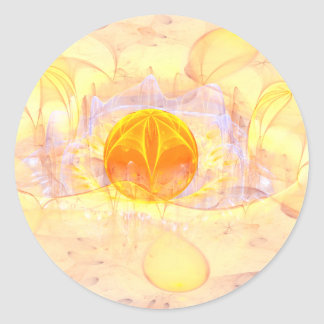 Mystic's Sphere Classic Round Sticker