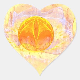 Mystic's Sphere Heart Sticker