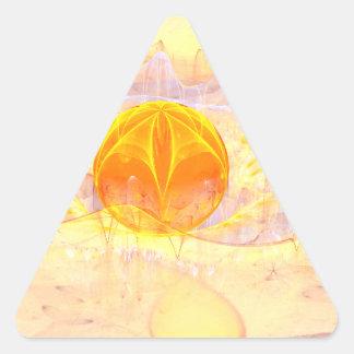 Mystic's Sphere Triangle Sticker