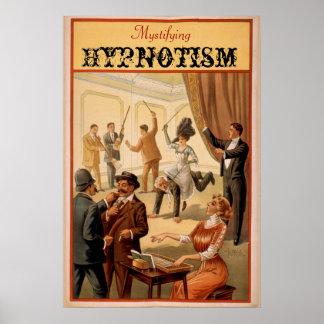 Mystifying Hypnotism VAUDEVILLE Poster