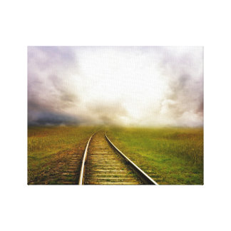 Mystifying Railroad to Nowhere Canvas Print