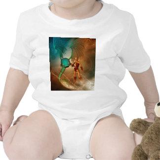 Mystikoi hermoso del wirh del duende traje de bebé