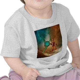 Mystikoi hermoso del wirh del duende camiseta