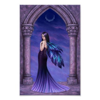 Mystique Dark Fairy Art Poster Print