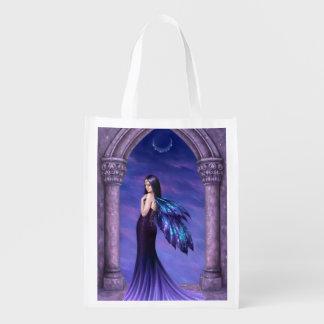 Mystique Dark Fairy Reusable Grocery Bag Grocery Bag