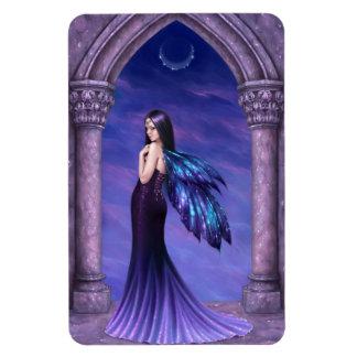 Mystique Elegant Dark Gothic Fairy Flexible Magnet