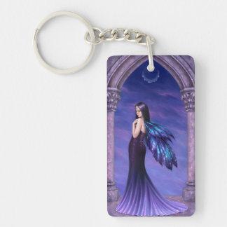 Mystique Fairy Double Sided Keychain Rectangular Acrylic Keychain