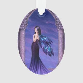 Mystique Fairy Oval Ornament