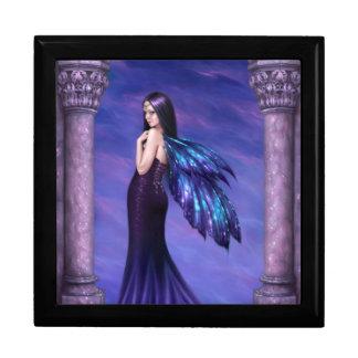 Mystique Galaxy Wing Fairy Keepsake Box