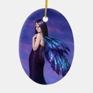 Mystique Galaxy Wing Fairy Ornament