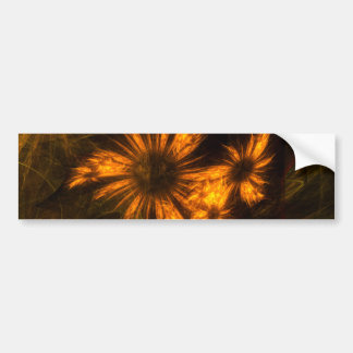 Mystique Garden Abstract Art Bumper Sticker