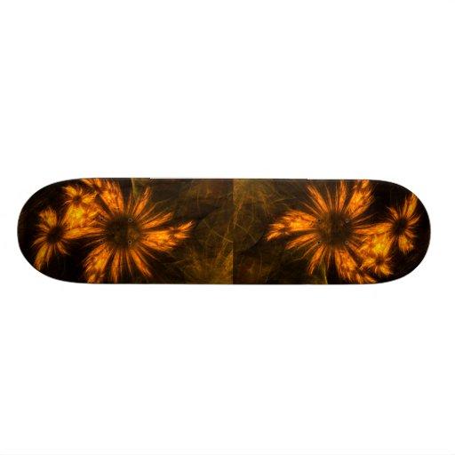 Mystique Garden Abstract Art Skateboard