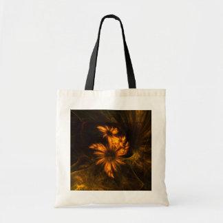 Mystique Garden Abstract Art Tote Bag