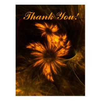 Mystique Garden Thank You Postcard