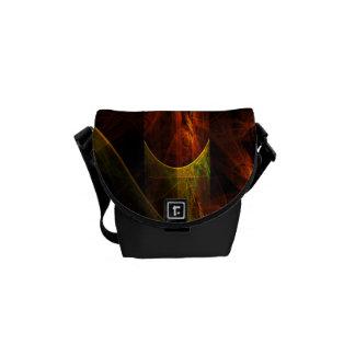 Mystique Jungle Abstract Art Mini Bag Courier Bag