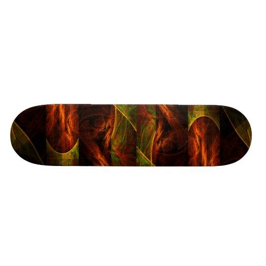 Mystique Jungle Abstract Art Skateboard