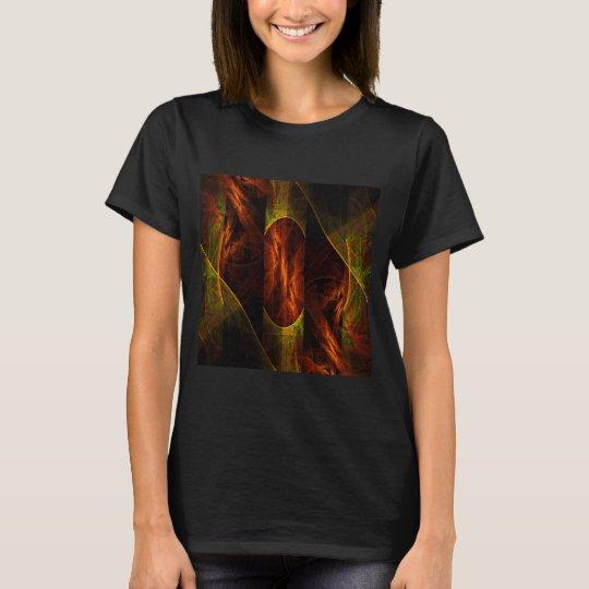Mystique Jungle Abstract Art T-Shirt