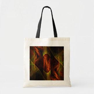 Mystique Jungle Abstract Art Tote Bag