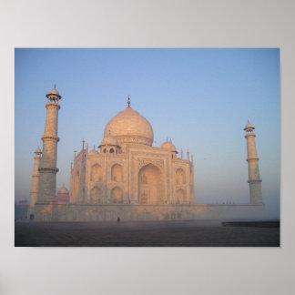 Mystique Taj Mahal Poster