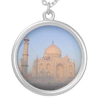 Mystique Taj Mahal Round Pendant Necklace