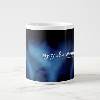 Mysty Blue Woman Mug 20 Oz Large Ceramic Coffee Mug