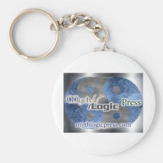 Myth Logic Press logo Keychain