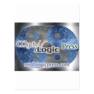 Myth Logic Press logo Postcard