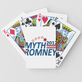 Myth Romney Anti Mitt 2012 Bicycle Playing Cards