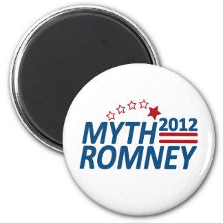 Myth Romney Anti Mitt 2012 Refrigerator Magnet
