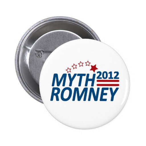 Myth Romney Anti Mitt 2012 Pin