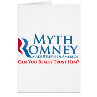 Myth Romney Greeting Cards