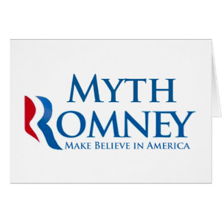 Myth Romney Greeting Card