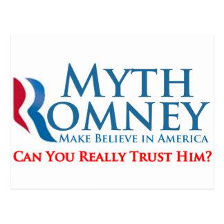 Myth Romney Post Cards