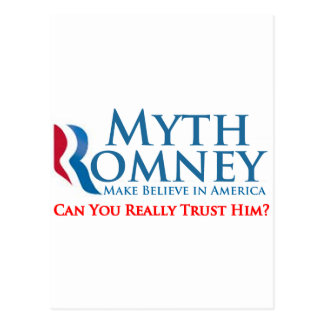 Myth Romney Postcard