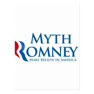 Myth Romney Post Card