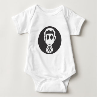 Mythbusters Gas Mask Baby Bodysuit