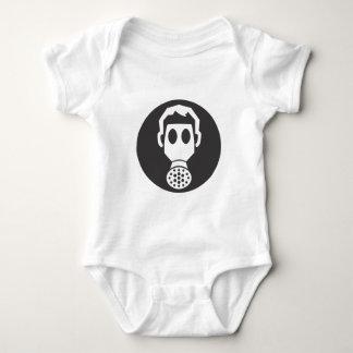 Mythbusters Gas Mask Baby Bodysuit