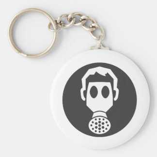 Mythbusters Gas Mask Keychain