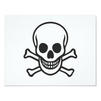 Mythbusters Skull Card