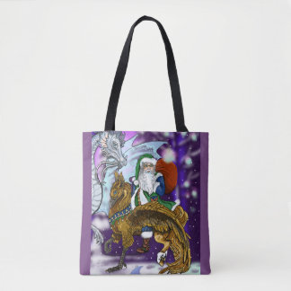 Mythic Santa Tote Bag
